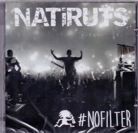 Cd Natiruts - #nofilter - Novo***