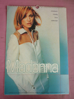 Madonna - Calendario 1999 Importado
