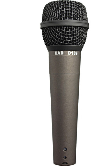 Microfone Dinamico Profissional Cad D189 + Cachimbo