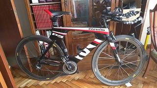 Bicicleta Triatlon Cervelo P5 Three 2014 Talle 54 Sin Uso