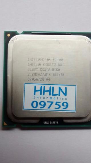 Processador Intel Core 2 Duo E7400 2,80ghz 3m 1066 - 9759