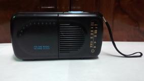 Rádio Portátil Talking Alarme Pilha Master