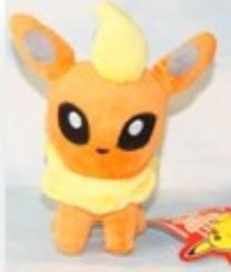 Pokemon Flareon Pelucia Pronta Entrega