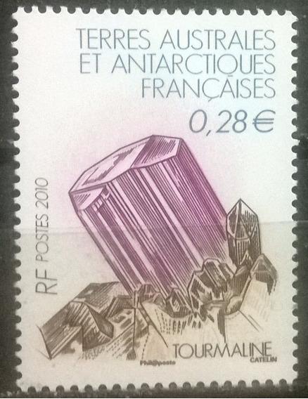 C@- Francia - Antartida - Minerales - Mint