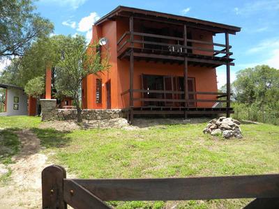Casa En 2 Plantas La Mejor Vista De La Villa Al Champaqui
