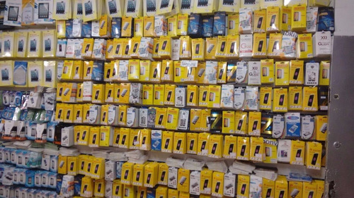 150 Peliculas De Vidro No Atacado + 150 Peliculas De Plastic