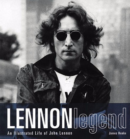Livro + Cd - Lennon Legend - An Illustrated Life - Raro