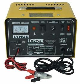 Carregador De Bateria 12/24v Portátil Lcb-25 - Lynus 220v