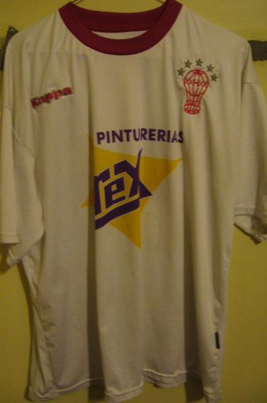 Camiseta Fútbol Huracán Kappa 2007 2008 #10 T. Xl