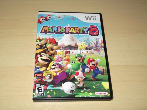 Wii - Mario Party 8 (americano)
