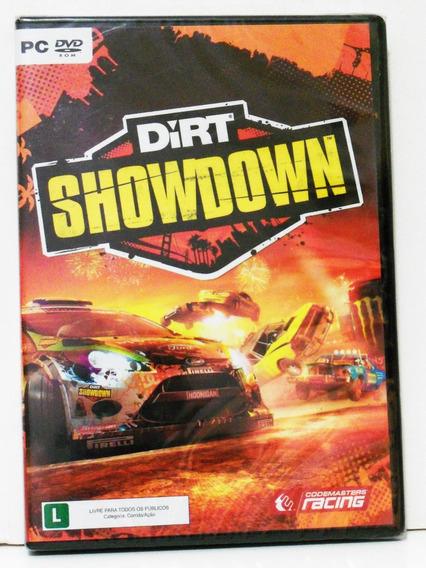 Jogo Pc Em Dvd Dirt Showdown Original Lacrado!*