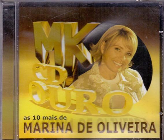 Cd Marina De Oliveira - Mk Cd De Ouro As 10 Mais - Novo***