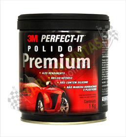 Massa De Polir Polimento Premium Linha Gold 3m Lata 1kg