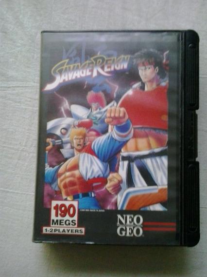 Savage Reign Jogo Neo Geo Snk Cartucho Jogo Neo Geo Snk