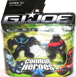 Combat Heroes Snake Eye Aquaviper The Rise Of Cobra G.i. Joe