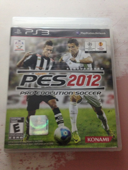 Pes 2012 Pro Evolution Soccer Original Completo Ps3 R$61,97