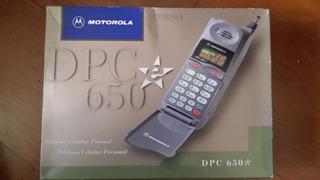 Celular Para Colecionadores Motorola Dpc 650, Na Caixa Novo