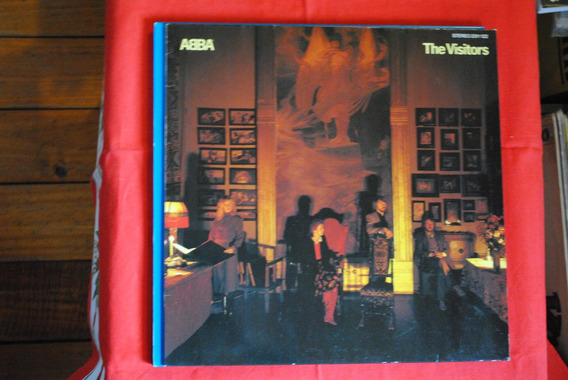 Abba The Visitors Lp Edicion Original Germany Impecable!