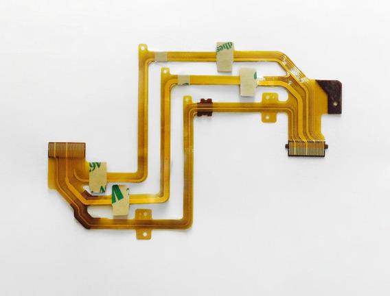 Flex Cable Original Do Lcd De Filmadora Sony Mod Sr82/sr200.