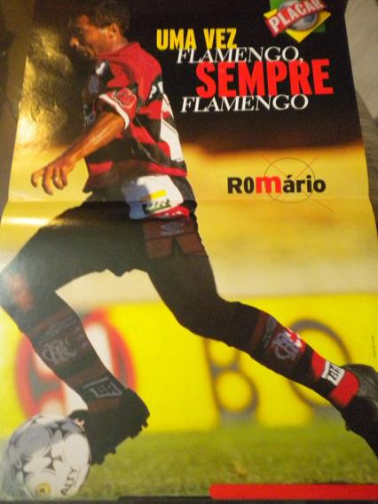 Poster Romário Flamengo Placar