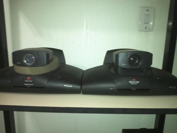 Duas Estações De Videoconferência Polycom Viewstation