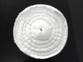 4 Roda De Flanela 15cm - Polimento Cd Dvd Blu-ray Acrílico