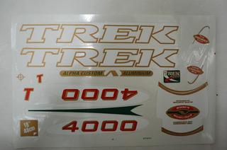 Jogo De Adesivos Bike Trek 4000
