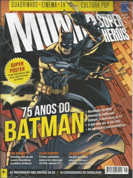 Mundo Dos Super-herois 56 - Europa - Bonellihq Cx271 H19