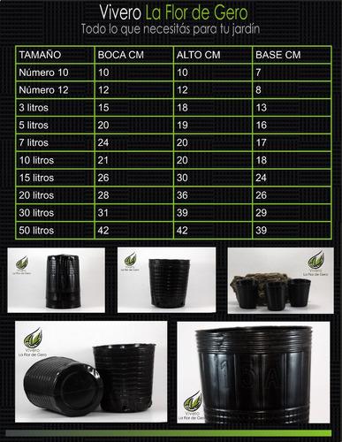 Macetas Sopladas De 3 5 10 15 20 30 Y 50 Litros Mercado Libre