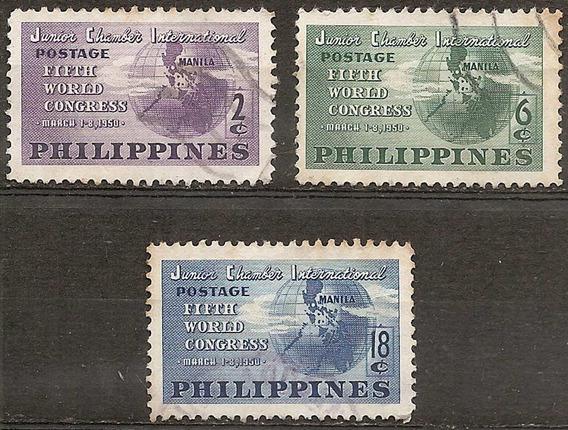 Filipinas Philippines 360/361/362