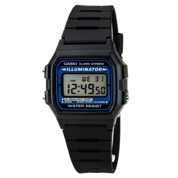 Relógio Casio F105w-1adf Original Classico F105 Na Caixa