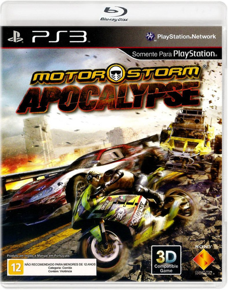 Motorstorm Apocalypse - Playstation 3 - S. G.