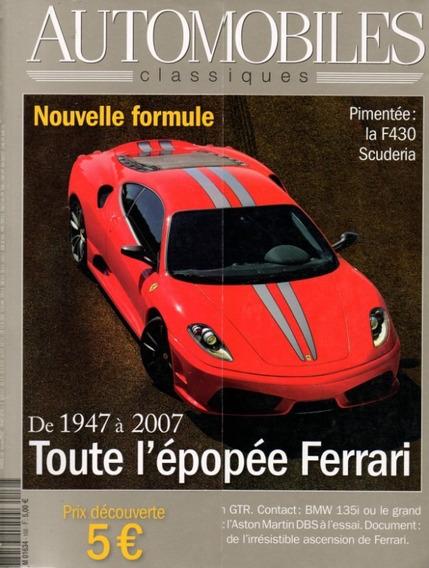 Automobiles Classiques N°168 Ferrari Bmw 135i Nissan Gtr Dbs