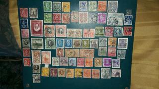 Colección Filatélica Perforados Diferentes Países Y Años