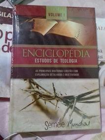 Enciclopédia Estudos De Teologia Vol I