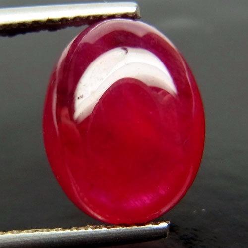 Safira Natural De Madagascar Vermelho Rubi