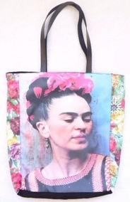 Bolsa Mafalda Frida Kahlo Amelie Poulain Ecobag