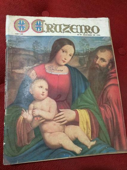 Revista O Cruzeiro 22/12/56 Madonnas Do Vaticano Santas