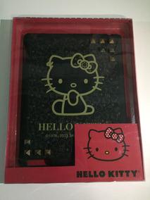 Capa iPad 1 2 E 3 Hello Kitty Original Preta Spike