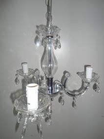 Lustre Bronzearte Mod:treviso Para 3 Lampadas E-14