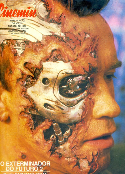 *sll* Revista Cinemin N. 72 - Exterminador D Futuro Ebal1991