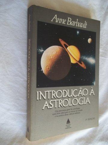 * Livros - Introdução Á Astrologia - Esoterico