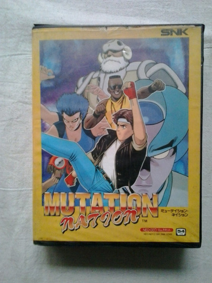 Jogo Neo Geo Snk Mutation Nation Cartucho Jogo Neo Geo Snk