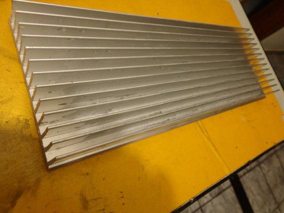 Dissipador Perfil De Aluminio 44 Cmx 10.4 X 2,5 Alt