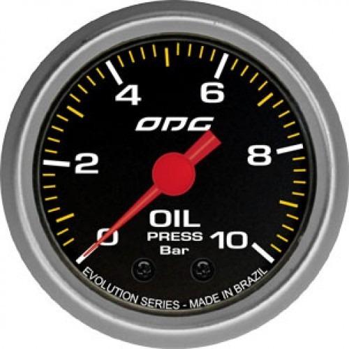 Manômetro Oil Evolution - 10 Bar 52 Mm