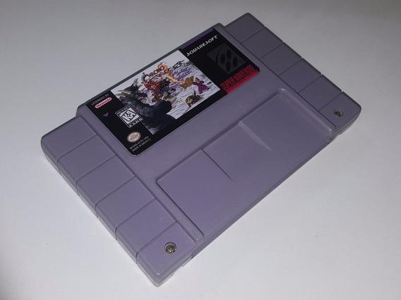 Chrono Trigger Original Repro Snes + Frete Grátis!!!!!!!