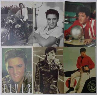 Elvis Presley Lote Com 10 Cartões Postais Originais