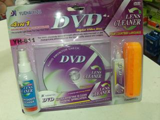 Dvd Limpia Optico, Para Play 2. Dvd. Reproductor Dvd