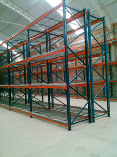 Racks Para Bodega, Estantes, Anaquel Industrial,selectivo