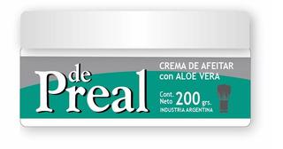 Crema De Afeitar De Preal Aleo Vera 200g Distr. Oficial Perfumeria Family